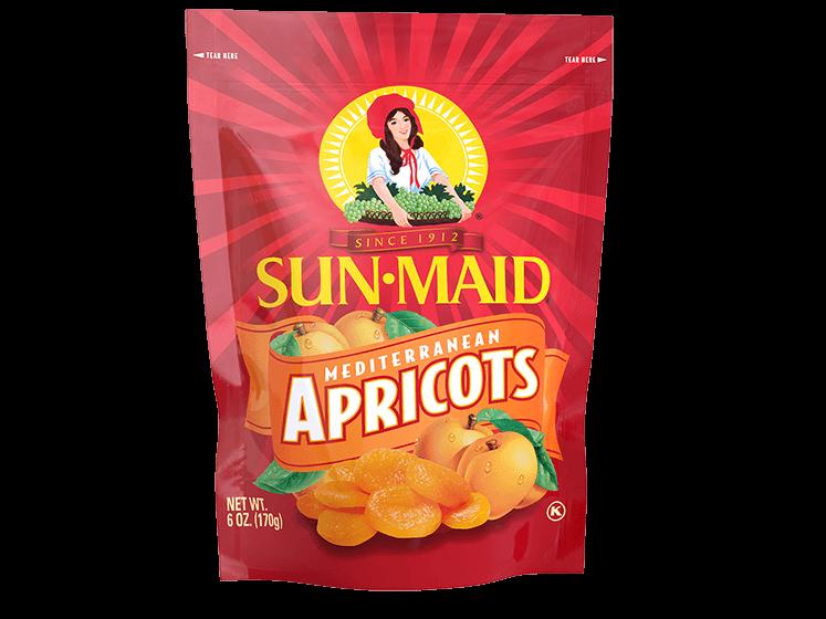 Sun-Maid Mediterranean Apricots 6 oz. bag