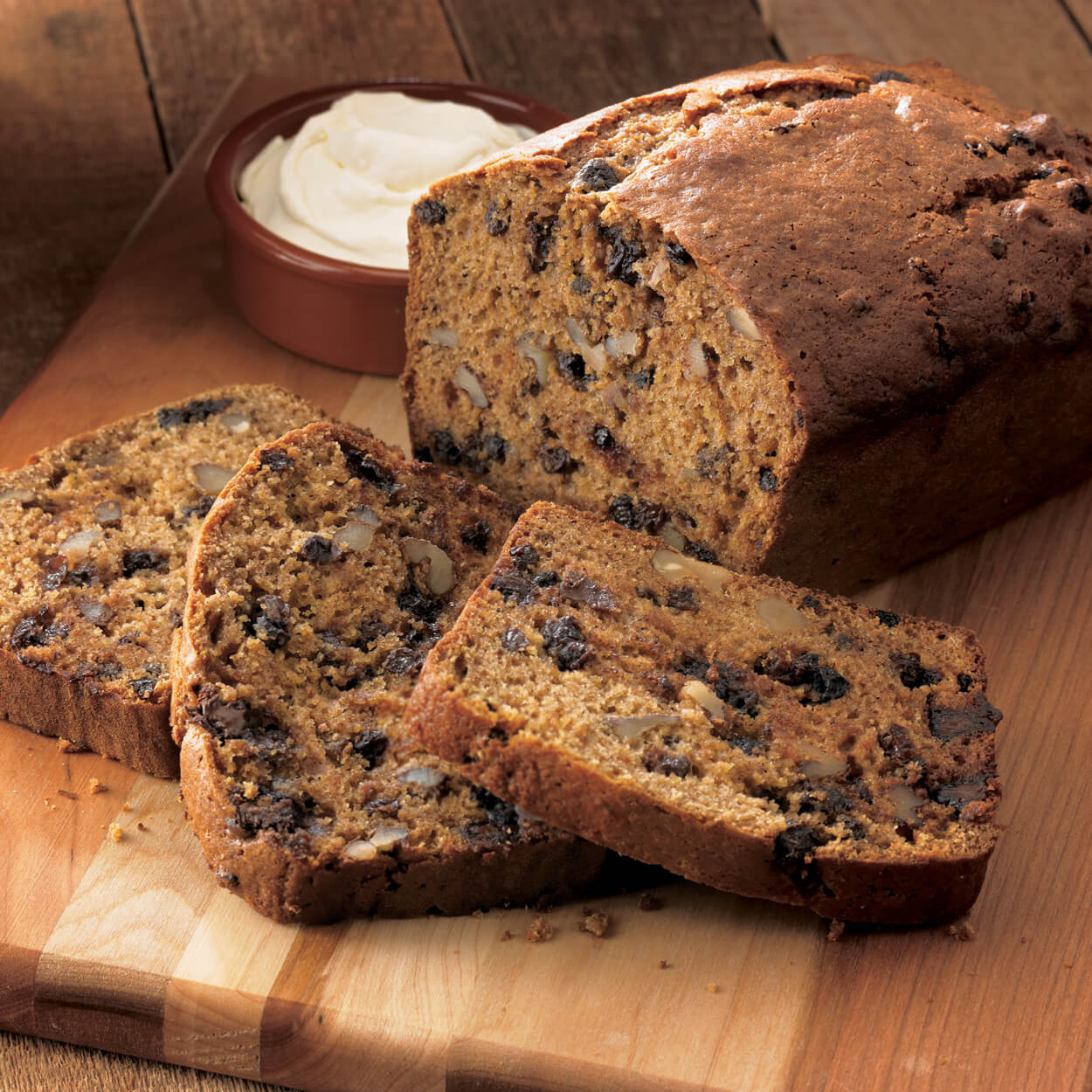 Freckled Pumpkin Bread