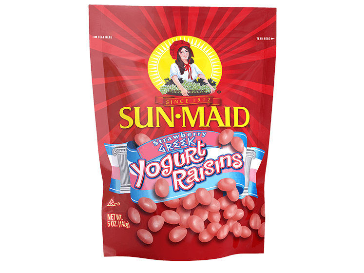 Sun-Maid Strawberry Greek Yogurt Raisins 5 oz. bag