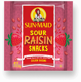 Sun-Maid Strawberry Sour Raisin Snacks 0.7 oz. pouch